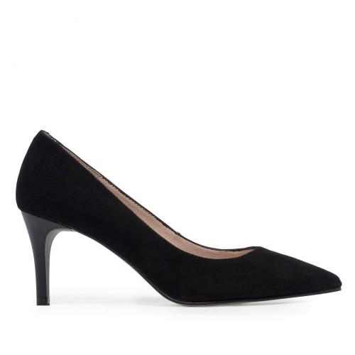 Zapato Salón Piel Negro - Eva López