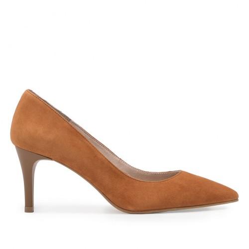 Zapato Salón Piel Marrón - Eva López