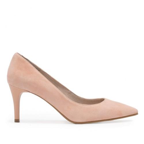 Zapato Salón Piel Rosa - Eva López
