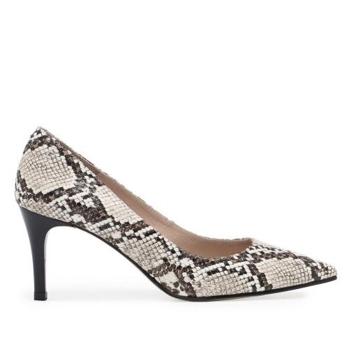 Zapato Salón Piel Serpiente - Eva López